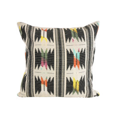 Retro Diamond Patterning Cushion