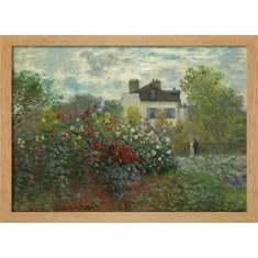 Monet's Summer Garden Print