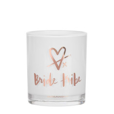 Bride Tribe Rose Gold Candle