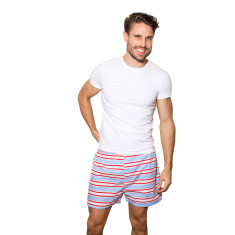 Dirty Harry blue stripe men's boxer shorts
