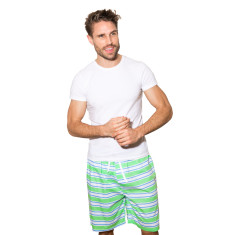 Dirty Harry green men's sleep shorts