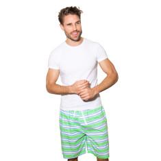 Dirty Harry green men's sleep shorts