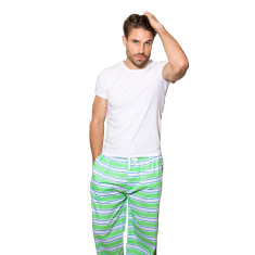 Dirty Harry green men's pj pants