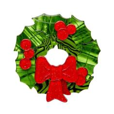 Erstwilder deck the halls brooch