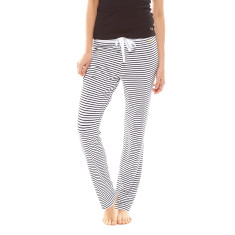 Essential Pant White & Black