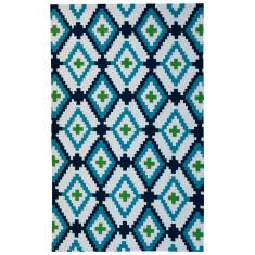 Diamond outdoor rug