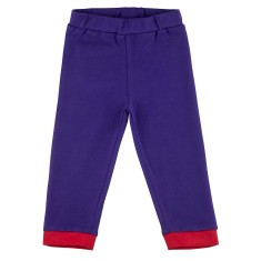 Indigo relaxed-fit baby pants