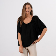 Trippin Blouse In Black