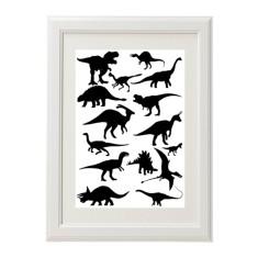 Kids' dinosaur print