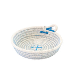 Rope Dish - Blue