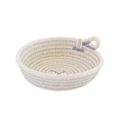 Rope Dish - Grey