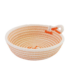 Rope Dish - Orange