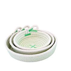 Rope Dish Set - Green