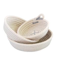 Rope Dish Set - Grey