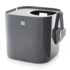 Modkat litter box in grey