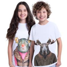 Reindeer kid's tee