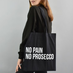 No Pain No Prosecco Tote Bag