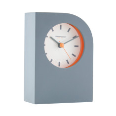 London Clock Company Tangent Grey Vertical Table Clock