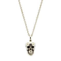 Small Calvariam Skull Pendant