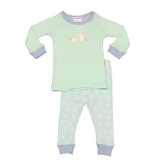 Bunnies Easter pj set