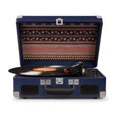 Crosley Cruiser II Portable Turntable With Battery - Blue