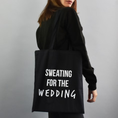 Sweating For The… Personalised Tote Bag