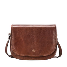 The Medolla Ultimate Leather Saddle Bag Handbag