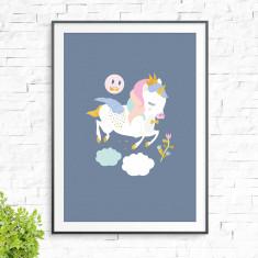 Zoe Unicorn Print