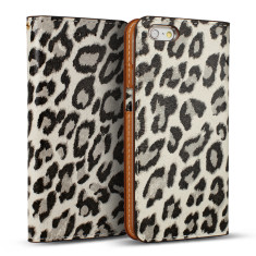 Premium Leopard leather Iphone 6/6s case in special edition