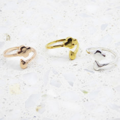 Rain Ring (Silver, Gold Or Rose Gold)