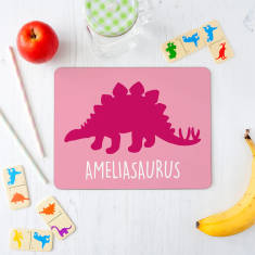 Children's Personalised Dinosaur Placemat