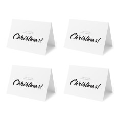 It's Christmas get your fat pants out! - Set of 4 Christmas Cards