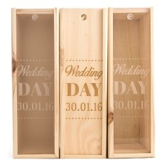 Classic Wedding Day Wine Box