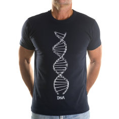 DNA men's navy t-shirt