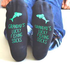 Personalised Lucky Fishing Socks