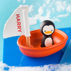Personalised Sailing Boat Bath Toy