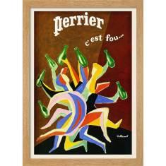 Perrier It's Crazy Print