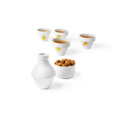 DOIY milk jar, cups and sugar bowl set