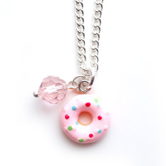Doughnut chain necklace