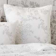April white European pillowcase