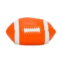 Football doorstop in orange