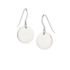 Dot sterling silver earrings