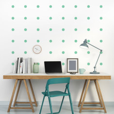 Dots wall decal (various colours)