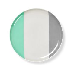Double dip side plate in mint