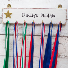 Personalised Medal Plaque