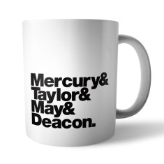 Queen Rock band mug