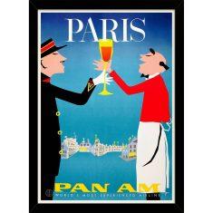 Paris with Pan Am Print