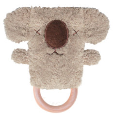 Keith koala dingaring teething rattle baby toy