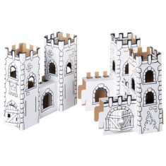 Calafant dragon rock cardboard castle
