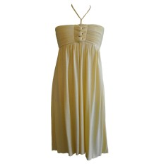 Girls' Cruz dress in banana